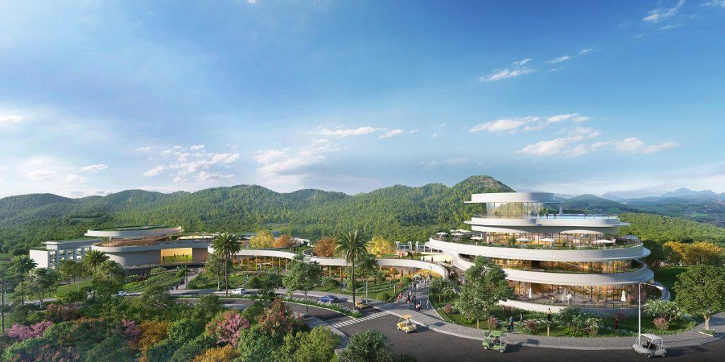 Phối cảnh dự án Howard Johnson by Wyndham Legacy Hill
